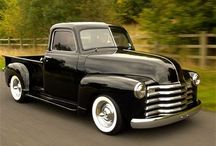 Old Chevy trucks