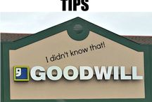 Shopping at Goodwill / Tips for making the most out of your next trip to Triad Goodwill.