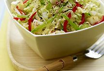 """Asian Slaw / """"This is the perfect side for anything from a casual backyard BBQ to a formal holiday meal. You'll never want to eat regular cole slaw again."""" Visit http://bestlifeblueprint.bizblueprint.com/healthy-recipies/asian-slaw"""