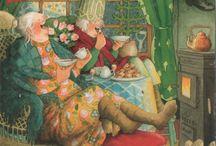 !) My collection - Inge Löök - Old Ladies cards