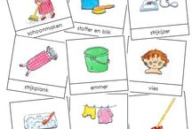 Taal: overige woordkaarten