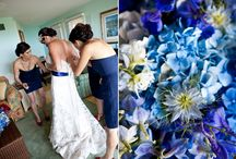 Feel the Blues / Use this versatile colour to transform your wedding - from fresh looks to glamorous ones