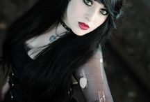 Gothic and Dark Beauty
