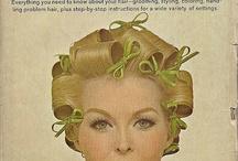 Vintage hair sets