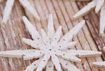 Vánoce-ozdoby z kolíčků na prádlo
