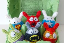 The Nerdiest Easter Eggs / Celebrate Easter with some eggs that are sure to make your inner nerd smile.