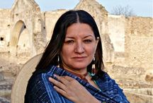 Sandra Cisneros / Sandra Cisneros was born in Chicago in 1954. She has been the recipient of numerous awards, including the Lannan Literary Award and the American Book Award, and of fellowships from the National Endowment for the Arts and the MacArthur Foundation. Cisneros is the author of two novels THE HOUSE ON MANGO STREET and CARAMELO; a collection of short stories, WOMAN HOLLERING CREEK; two books of poetry, MY WICKED WAYS and LOOSE WOMAN; and a children's book, HAIRS/PELITOS. / by Vintage Books Anchor Books