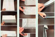 Como fazer sacos de papel