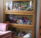 *Yarn Storage / Display / Inspiration, shopping, and DIY solutions for storing and/or displaying yarn