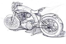 Bike Sketches / Concept sketches