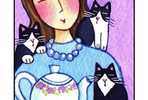 Tea for Kitties / by Helen Duvall