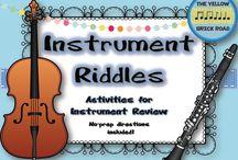 Music Ed Instrument Families