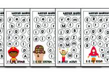 Alphabet for Kindergarten / by Diane Goetschius