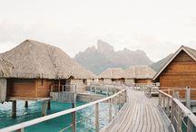 Honeymoon in Bora Bora: Grey Likes Weddings / Grey Likes Weddings traveled to Bora Bora and uncovered the romance, privacy and adventure!  http://www.greylikesweddings.com/