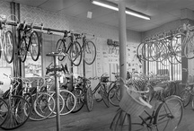 Bicycle Nostalgia / Wouldn't you just love to step into yesterday?  Hear the bell ring when you walk in?  Be surrounded by bikes, parts, old wood... / by Paul's Bicycle Repair