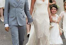 Celebrity Brides / Celebrity Bridal Inspiration