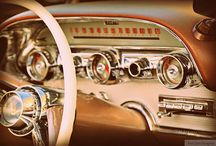 Dash Cam / Interiors and dash panels of vintage cars.