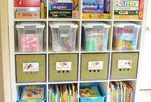 Playroom organization/ideas