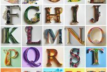 Quilling lettres