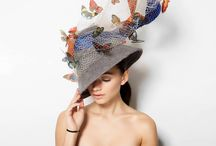 The Re-Write Millinery Collection AW17 / Inspired by the Spanish surrealist painter Salvador Dali, Merve Bayindir Millinery has created a collection focused on the symbols in Dali's paintings.