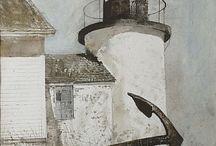 Artist: Andrew Wyeth / #artist #andrew_wyeth