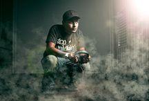 Dj photoshoot