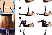 Flat belly exercise