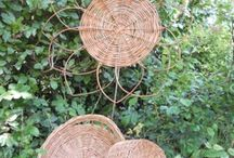 Willow craft skills / We run friendly courses throughout the year creating baskets, obelisks, festive decorations, bowls and platters made from eco-friendly willow grown in our  beautiful grounds here at the Sustainability Centre.