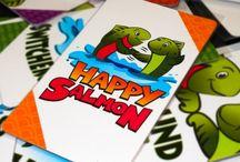 reseñas, juegos de mesa, happy salmon, opinion