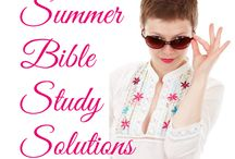 Bible Study Ideas / Resources and ideas for small group bible studies (focus on women)