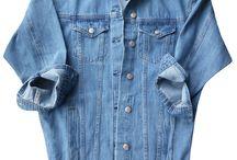 Kurtka Damska Katana Jeans Długa Oversize #140 FASHIONAVENUE.PL