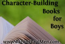 Book List and Ideas for my reading boys / It is hard to find good books that are righteous books with good morals and values these days. On this board you will find blog posts highlighting good books for your children to read.