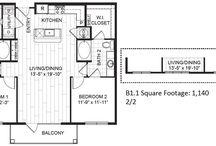 Two Bedroon Apartment in Houston, TX / Floorplan