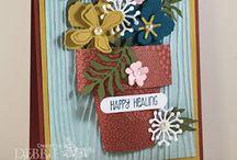 """Cards - """"Botanical Blossoms"""""""