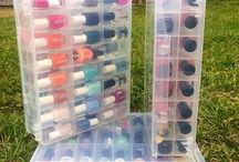 Beauty product storage