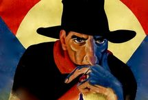 THE SHADOW ORIGINAL PULP MAGAZINE COVERS SANS TYPE / Images from original SHADOW pulp magazine, without typography