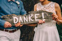 Danke nach der Hochzeit