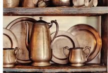 Antique copper cooking ware / Beautiful copper cooking ware