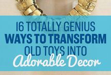 CREATE: Upcycled Projects / Trash to treasure