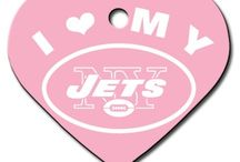 New York Jets Dogs / New York Jets Dog Collar: Clothes, Apparel, Lead & ID Tags - Hot Dog Collars