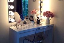Vanity tour / Table beauty storage