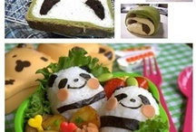 "Kawaii Food / Kawaii/Japanese foods. Bento and sushi can be found on my board, ""Bento Boxes."" / by Raechel Kundert"