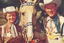 Roy Rogers and Dale Evans​