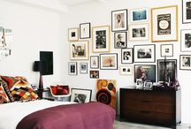 How to Style: Gallery Wall / http://sothebysrealty.ca/blog/en/2015/06/30/how-to-style-gallery-wall/