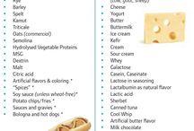 Gluten free and casein free dieet