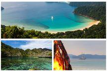 Burma's Mergui Archipelago / Cruises in Myanmar's (Burma) Mergui Archipelago with the classic schooner Raja Laut