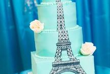 Cityscape and travel inspired cakes