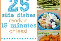 Food: side dishes, veggies