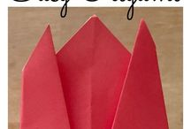 Origami &Kagit katlama sanati