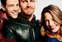 Flash, Arrow, Supergirl